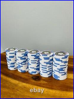 100-$20 Outpost Casino Paulson/PAUL-SON Clay Poker Chips TH&C