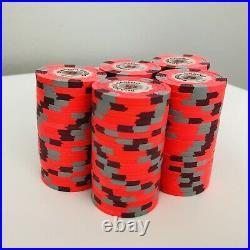 100-$5 Denom Scandia Casino Norway Paulson/PAUL-SON Clay Poker Chips