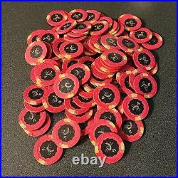 100-$5 Horseshoe Casino Cincinnati-OH Paulson Clay Poker Chips