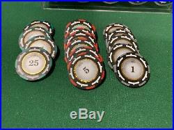 1000 Poker Chip Set 13.5 gram Z-Pro Heavy Clay Chip Set