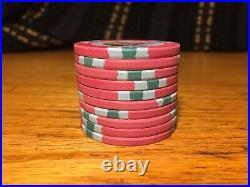 1025 New China Clay Pharaohs Poker Chips