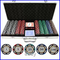 13.5g 500 piece Z-Pro Clay Poker Chips