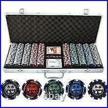 13.5g 500pc Pro Poker Clay Poker Set