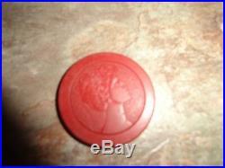 188 Vintage Poker Chips Clay Rare Gambling