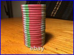 300 China Clay Dunes Poker Chips