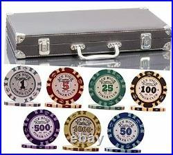 320 Piece Pro Poker Clay Poker Set Heavy weight clay chips 320pcs Model B