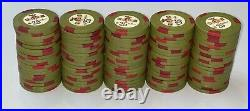 400 HOLIDAY IN RENO Casino Chips Rare Set H-mold $5s and $25s Poker Clay. Nevada