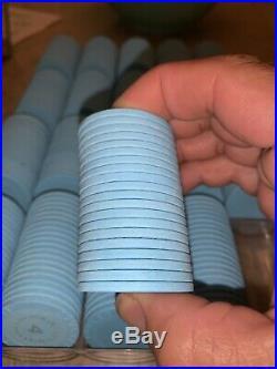 400 X Paulson Clay Chips Casino Grand victoria Poker chip Roulette Mold