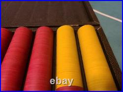 500 Clay Poker Chips ASM Dice and Cards Mold