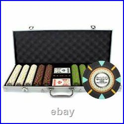 500 Count'The Mint' Poker Chips in Aluminum Carrying Case, 13.5g Clay