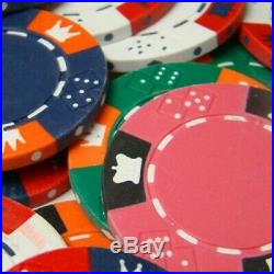 100pcs 14g Yin Yang Casino Table Clay Poker Chips $10