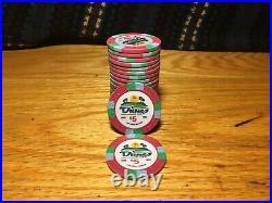 600 China Clay Dunes Poker Chips