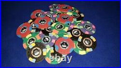 CPC/ASM 534 real clay custom casino quality poker chips withaluminum case