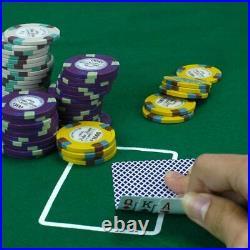 Claysmith Gaming 1,000 Ct Monaco Club Poker Set 13.5g Clay Composite Chips