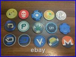 Crypto Clay Poker Altcoin Chip Set Dogecoin Darkcoin Unobtanium Vericoin Reddit