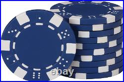Fat Cat 11.5 Gram Texas Hold em Clay Poker Chip Set with Aluminum Case, 500