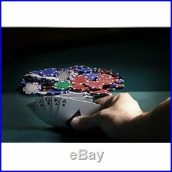 Fat Cat 11.5 Gram Texas Hold'em Clay Poker Chip Set with Aluminum Case, 500 Str