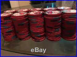 Garden City 200 Clay Poker Chips Rare