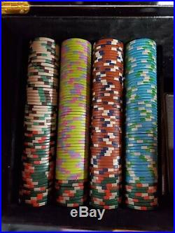 Lot of 550 Poker Knights Composite Clay Poker Chips
