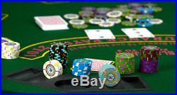 NEW 1000 Claysmith The Mint 13.5 Gram Clay Poker Chips Aluminum Case Set Custom