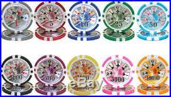 NEW 1000 PC Ben Franklin 14 Gram Clay Poker Chips Bulk Lot Select Denominations