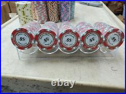 NEW 400 Monte Carlo Smooth 14 Gram Clay Poker Chips Bulk Pick Your Chips