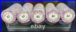 NEW 500 Monte Carlo Smooth 14 Gram Clay Poker Chips Bulk Pick Your Chips