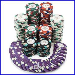 NEW 500 PC Monaco Club 13.5 Gram Clay Poker Chips Bulk Lot Mix or Match Chips
