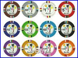 NEW 700 PC Desert Heat Clay 13.5 Gram Poker Chips Bulk Lot Pick Your Chips