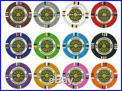 NEW 800 PC Gold Rush 13.5 Gram Clay Poker Chips Bulk Lot Pick Your Chips