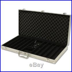 New 750 The Mint 13.5g Clay Poker Chips Set with Aluminum Case Pick Chips