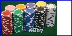 New Bulk Lot of 1000 Diamond Suited 12.5g Clay Poker Chips Pick Colors