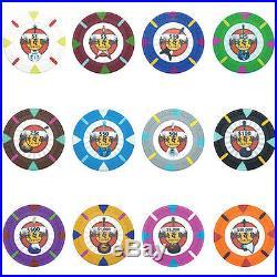 New Bulk Lot of 1000 Rock & Roll 13.5g Clay Poker Chips Pick Denominations
