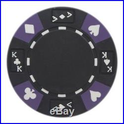 New Bulk Lot of 600 Ace King Suited 14g Clay Poker Chips Pick Colors