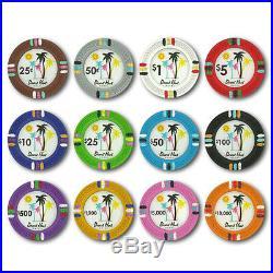New Bulk Lot of 600 Desert Heat 13.5g Clay Poker Chips Pick Denominations