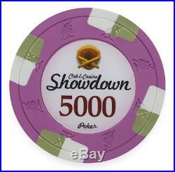 New Bulk Lot of 600 Showdown 13.5g Clay Poker Chips Pick Denominations