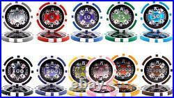 New Bulk Lot of 750 Ace Casino 14g Clay Poker Chips Pick Denominations