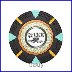 New Bulk Lot of 750 The Mint 13.5g Clay Poker Chips Pick Denominations