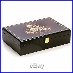 New Poker Set With 200 11.5 Gram Clay Composite Chips Two Decks Five Poker Dice