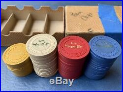 Old Clay Scimitar Poker Chips