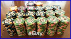 Paulson Pharaoh Clay Poker Chips Pharaoh's and WTHC 5000's