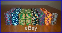 Paulson Tophat & Cane, Clay Poker Chips (Set of 680 Casino Quality Chips)