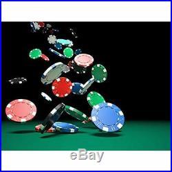 Poker Chips Sets Set, Heavy Duty 11.5 Gram Clay Texas Holdem Blackjack Gambling