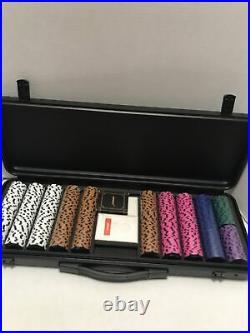 SLOWPLAY Nash 14 Gram Clay Poker Chips Set New In Box Brand New