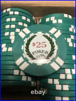 Sidepot BCC Protege Clay Poker Chips 100/$25